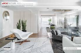 100 Residential Interior Design Magazine SHROFFLEN APARTMENT 701 IN TRENDS MAGAZINE