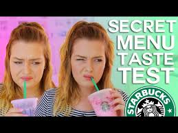 Starbucks Secret Menu Taste Test Pink Drink Purple More