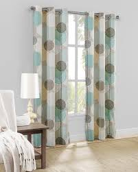 Tahari Curtains Home Goods by Mainstays Hanging Medallion Grommet Curtain Panels Set Of 2 80