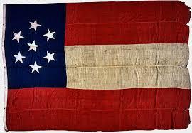 original stars and bars confederate civil war flag photograph by