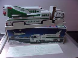 1999 Hess Truck And Space Shuttle With Satellite | Pinterest | Space ...