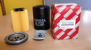 100 Oem Truck Accessories Oil Filters For Toyota 90915TD004 Pickup Truck Accessories And