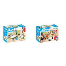 spielzeug playmobil modernes wohnhaus möbelset 9268