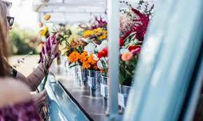 Of Posies Vending Features S Contact U Local Bloom Flower Truck Follow