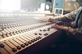 Large Format Recording Console