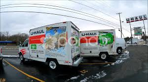 100 Truck Rentals For Moving UHaul Moving Van Rental Lot Hi Res Video 45157836
