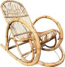 Vintage Italian Rocking Chair In Bamboo And Rattan - Design Market Italian 1940s Wicker Lounge Chair Att To Casa E Giardino Kay High Rocking By Gloster Fniture Stylepark Natural Rattan Rocking Chair Vintage Style Amazoncouk Kitchen Best Way For Your Relaxing Using Wicker Sf180515i1roh Noordwolde Bent Rattan Design Sold Mid Century Modern Franco Albini Klara With Cane Back Hivemoderncom Yamakawa Bamboo 1960s 86256 In Bamboo And Design Market Laze Outdoor Roda