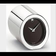 89 off movado accessories movado mini table clock from s