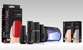 sensationail gel polish kit groupon goods