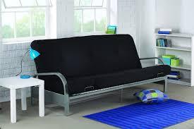 Kebo Futon Sofa Walmart by Mainstays Metal Arm Futon With Mattress Black Roselawnlutheran