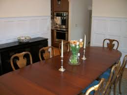 Antique American Table; Old But Not Real Queen Anne Chairs ...