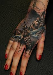 Hand Tattoo Designs For Women 14 19 Moths On