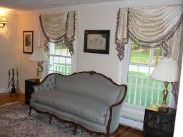 Interior living room valances Living Room Window Treatments