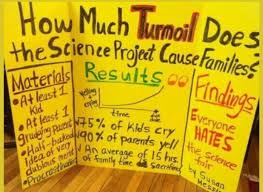 Science Fair Project Board Joke