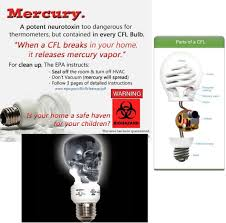 the our heads energy saving light bulbs are poisonous