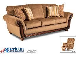 American Furniture Manufacturing Living Room Sofa 5653 1662
