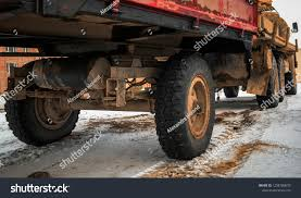 Undercarriage Old Trailer Old Truck Automobile Stock Photo (Edit Now ...
