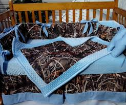 Camouflage Bedding Queen by Real Tree Max 4 Camouflage Camo Crib Bedding Set W Baby Blue Twin