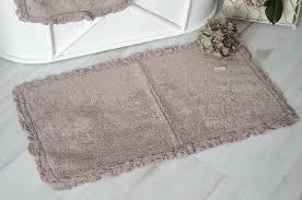 badezimmer vorleger matten badläufer badteppich mint gr