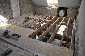 beton leger sur plancher bois maison design hompot