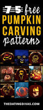 Wolf Face Pumpkin Carving Patterns by 75 Free Pumpkin Carving Patterns