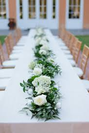 Luxurious Wedding Table Garlands