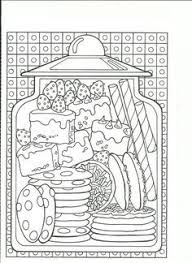 Sweet Sapporo Coloring Book Adult Anti Stress Food Pancake