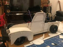 Just Started To Make A 50s Chevy Pickup Rat Body From Styrene - Am I ... Axial Scx10 110 Rc Crawler Toyota Hillux Body Crawlers Lvadosierracom 475 Combo Lift Suspension Upgrading The Bodywheelstires On Arrma Kraton Big Squid Rc Amazoncom Maisto Harleydavidson Custom 1964 Chevy C10 Truck Of The Week 9222012 Traxxas Stampede Truck Stop 51 Gmcchevy Stepside Pickup Bodies And Parts 1972 Scalpel Speed Run Jconcepts Vaterra Pickup V100 S 4wd Brushed Rtr 1986 Chevrolet K5 Blazer Ascender Rock 2018 Silverado Vs Ford F150 Comparison Test Review Making A Cheap Look More To Scale 4 Steps 53 Body On Helion Invictus Monster At New