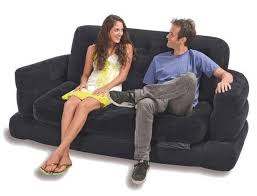 Intex Inflatable Pull Out Double Sofa Bed prepossessing intex inflatable pull out sofa queen bed mattress