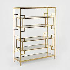habitmobel regal 94 metall gold spiegel antik exklusives