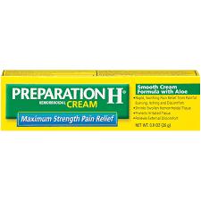 Sperti Vitamin D Lamp Uk by Amazon Com Preparation H Hemorrhoidal Cream Maximum Strength Pain