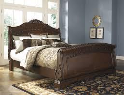bedroom slay bed ashley furniture sleigh bed upholster bed frame