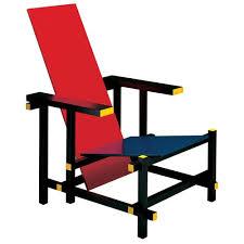 chaise rietveld buy the 635 cassina and blue chair utility design uk