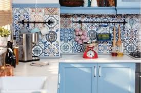 Mediterranean Kitchen By The Tile Mob Pty Ltd