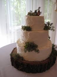 By Bakebitelove Rustic Naturey Wedding Cake As Seen On Style Me Pretty