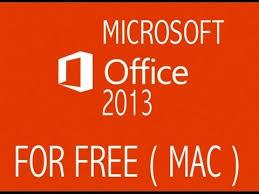 How To Get Microsoft fice 2013 Mac FREE