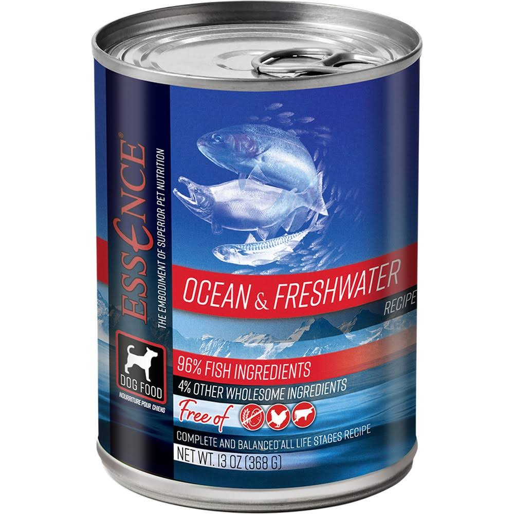 Essence Ocean & Freshwater Recipe Canned Dog Food - 13 oz
