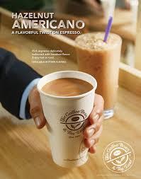 The Coffee Bean Tea Leafs New Hazelnut Americano