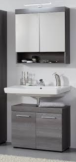 spiegelschrank bad 60 cm grau rauchsilber badmöbel spiegel