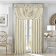 J Queen New York™ Marquis Rod Pocket Window Curtain Panel Pair