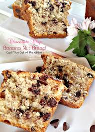 Chocolate Chip Banana Nut Bread Can t Stay Out of the Kitchen