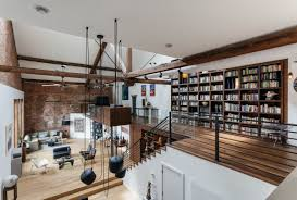 100 Exposed Joists Loft Features Exposed Joists And Brick In This Former 1890
