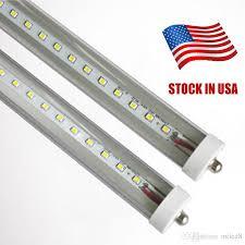 8ft fa8 single pin t8 led light l bulbs smd2835
