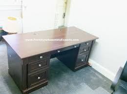 Sauder Office Port Executive Desk Instructions by Best 25 Furniture Assembly Ideas On Pinterest Wood Joints