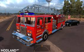 Two Fire Trucks In Traffic (with Siren And Flashing Lights) To ATS ... Fire Truck Parking Hd Google Play Store Revenue Download Blaze Fire Truck From The Game Saints Row 3 In Traffic Modhubus Us Leaked V10 Ls15 Farming Simulator 2015 15 Mod American Ls15 Mod Fire Engine Youtube Missippi Home To Worldclass Apparatus Driving Truck 2016 American V 10 For Fs Firefighters The Simulation Game Ps4 Playstation Firefighter 3d 1mobilecom Emergency Rescue Code Android Apk Tatra Phoenix Firetruck Fs17 Mods