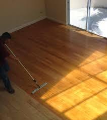 Hardwood Floor Buffing And Polishing by Painting Hardwood Floors Custom Staining Wood Flooring Los Angeles