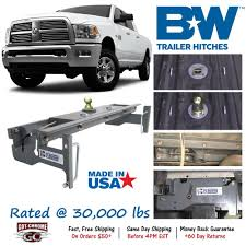 100 Hitches For Trucks GNRK1313 BW Turnoverball Gooseneck Hitch Ball Dodge Ram 2500 3500