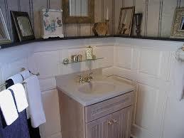 Bathroom Beadboard Wainscoting Ideas by Marvelous Wainscoting For Bathroom Walls Ideas Using Amp Designs
