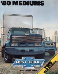 GM 1980 Medium Duty Chevy Truck Sales Brochure