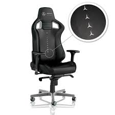 Noblechairs EPIC Gaming Chair - Mercedes-AMG Petronas Motorsport Edition
